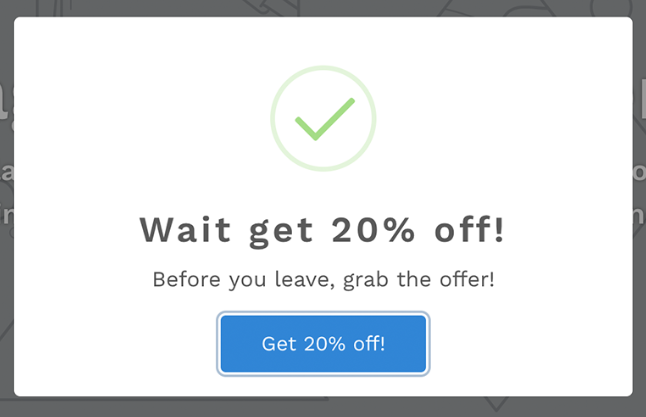Wait! app desktop exit discount