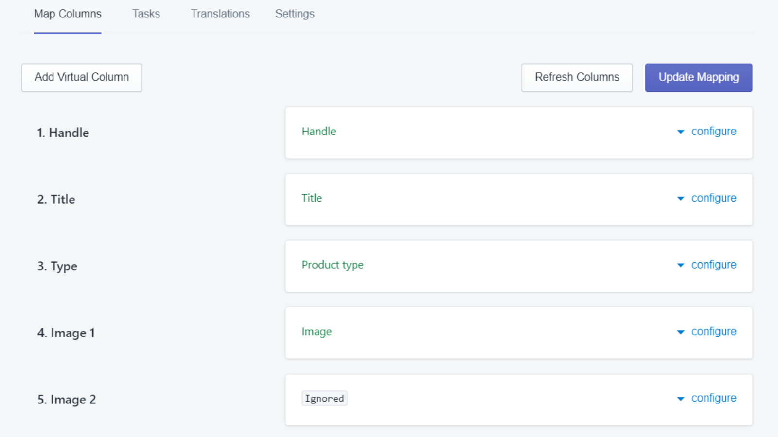 Import products app for Shopify