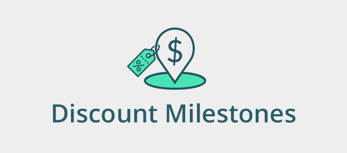 Discount Milestone Shopify app coming soon