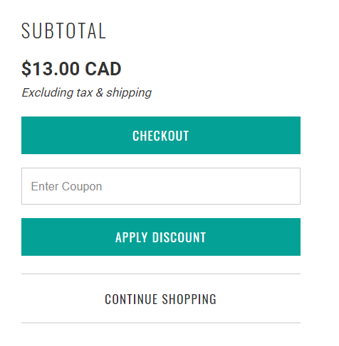 Carter app Coupon field in Cart - Turbo theme for Shopify